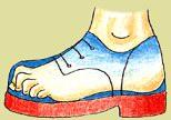Nošení příliš krátké obuvi ohrožuje zdraví nohou